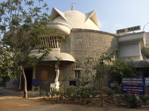 Ramsuratkumar ashram in Tiruvannamalai, India.