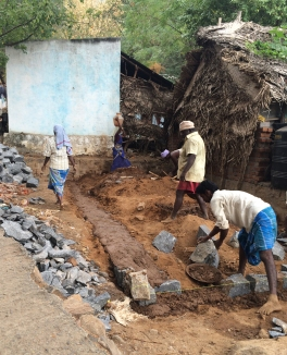 "Building a new ""Abode"" in Tiruvannamalai"
