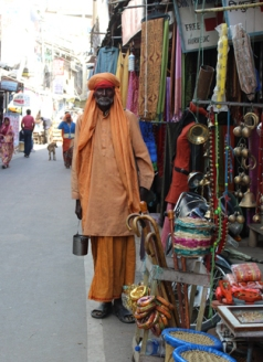 Holy man in Pushkar.