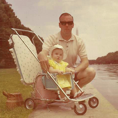 me and dad